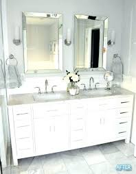 double vanity with two mirrors. vanities: small two sink vanity double ikea full image for before and with mirrors :