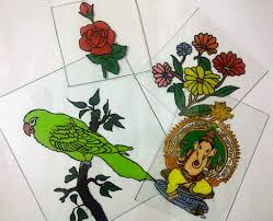 Glass Painting Designs For Wall Hanging Pdf How To Make A Reverse Glass Painting