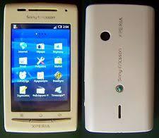 sony ericsson xperia x8. sony ericsson xperia x8 e15i white smartphone wifi gps with accessories xperia