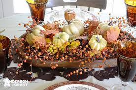 Dough Bowl Decorating Ideas Setting a Table for Fall anderson grant 49