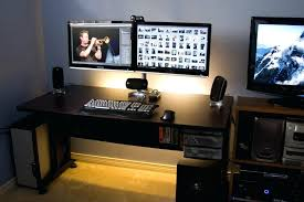 home office technology. Best Monitor For Home Office Furniture Outstanding Computer Desk Two Monitors 9 Perfect Dual Technology