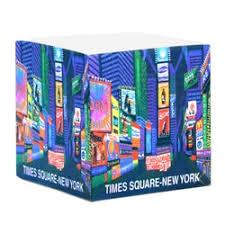 Square Paper Times Square Beach Towel