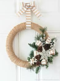 quick easy burlap wreath tutorial