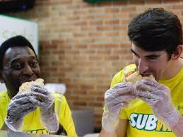 michael phelps subway sandwich