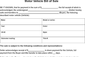 vehicle bill of sale as is 7 vehicle bill of sale form free download