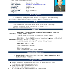 Free Download Teacher Resume Format Perfect Resume Template Imposing Models Samples For Freshers 93