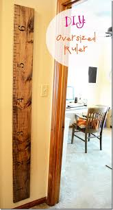 The Jolly James Diy Growth Chart Oversized Ruler