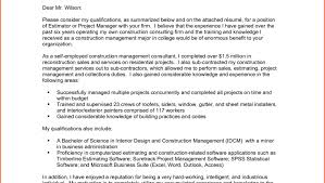Project Manager Resume Cover Letter 13 Project Manager Cover