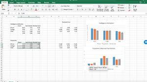 Custom Error Bar Standard Error Bar Tutorial Excel 2016 Mac