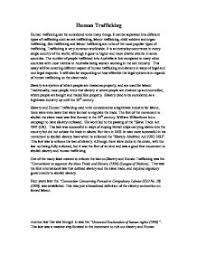 college essays on human trafficking writing a paper on human trafficking tips for college viva essay
