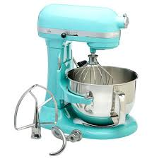 Bowls 6 Qt Kitchenaid Bowl Aqua Sky Quart Pro Lift Stand Mixer Refurbished Scraper Attachment