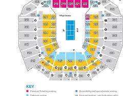 Perth Arena Seating Plan 2015 Hopman Cup