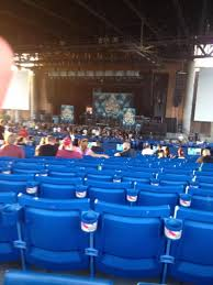 concert seat view for ak chin pavilion section 202