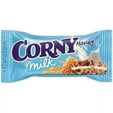 <b>Corny</b> (корни) milk <b>злаковый</b> батончик молоко и мед 30г ...