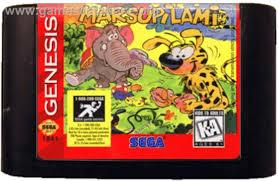 Marsupilami - Sega Genesis - Artwork - Cartridge
