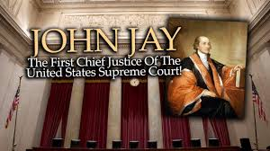 Image result for Washington named John Jay to be chief justice.