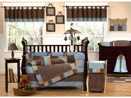 image of unique crib bedding modern design