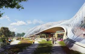 google hq office. Bjarke Ingels And Thomas Heatherwick Reveal Google\u0027s California HQ Google Hq Office
