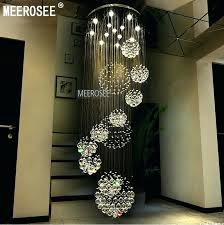 modern crystal chandelier lighting fixture light re spiral lamp chandeliers hanging fast from