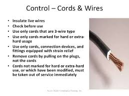 electrical safety and arc flash training Hard Wiring Compliance access safety compliance training, inc 29 Hardwired to Self Destruct