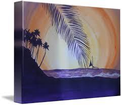 Seaside Silhouette by Consuelo Kirk