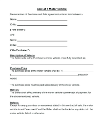 Personal Car Sale Agreement Private Car Sell Contract Template Inspirational Business