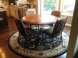 round table rug pool table area rug size
