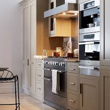 Gallery classy design ideas Kitchen Cabinet Small Kitchen With Neutral Cabinets Range Cooker And Stainless Steel Appliances Interior Design Ideas Thecubicleviews Kitchen Classy Design Ideas For Small Kitchen Kitchen Makeovers