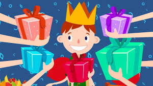 Image result for animacja prezenty dla 3 latka