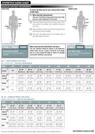 Stormtech Size Chart Womens Micro Light Shell Sr 1w