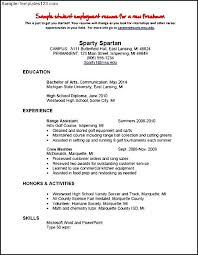 Self Employment Resumes Sample Waitress Resume Examples Office