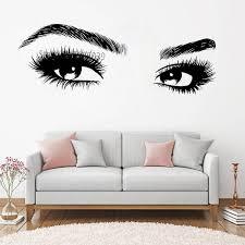 beauty salon wall stickers