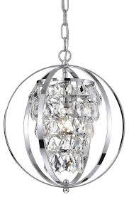 18 4 light modern sphere orb chandelier brushed nickel finish