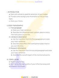 reflection paper example essays a brief guide on how to write an outstanding reflection paper