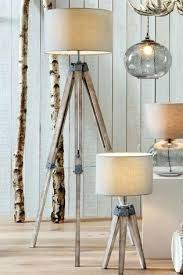 wooden tripod floor lamp uk wooden tripod table lamp from the next