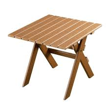 resin side table outdoor brown wicker patio eon tb folding