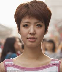 Korean Woman Short Hair Style asian short hairstyles for women asian short hairstyles for women 4065 by wearticles.com