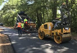 Asphalt Laid As Marshalls 2019 Street Project Gets Underway