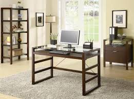 Office desk glass top Clear Glass Small Home Office Desk Glass Top Autorepinfo Small Home Office Desk Glass Top Town Of Indian Furniture