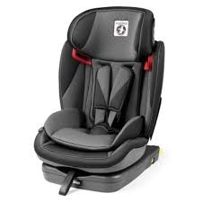 peg perego viaggio 1 2 3 via car seat isofix group 1 2 3 9 36 kg crystal black grey collection 2018