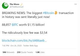 However, transaction times can vary wildly — and here, we're going to explain why. Breaking News Bitcoin S Biggest Transaction To Date