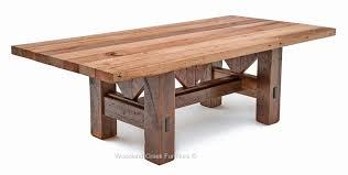 old wooden farmhouse table