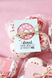valentine donut printables 15 low cost and lovable diy valentine s day gifts for him