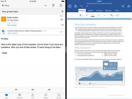 Side view office set Mock Microsoft Office Is All Set For Apples Ipad Pro And More Cnet Microsoft Office Is All Set For Apples Ipad Pro And More Cnet
