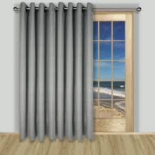 Curtains Sliding Glass Door Curtain Sliding Door Curtains Grommet Prime Grasscloth Lined Patio