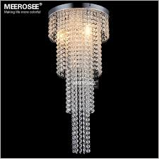 3 lights crystal chandelier long size re light bedroom aisle porch lighting hallway cristal re suitable for led bulbs md12113