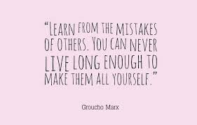 Learning From Mistakes Quotes Beauteous Quotes About Mistakes Awesome Quotes About Life