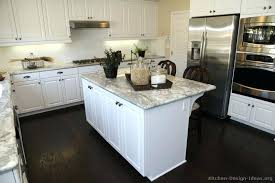 kitchens with white cabinets and dark floors. White Kitchen Cabinets With Wood Floors New Ideas Dark In  . Kitchens And S