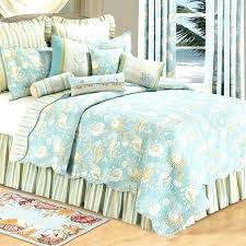 coastal living bedding natural s quilt deluxe set ocean stripe rooms ideas sea life beautiful palm