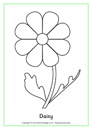 Small Picture Grand Daisy Flower Coloring Pages More Images Of Daisy Coloring